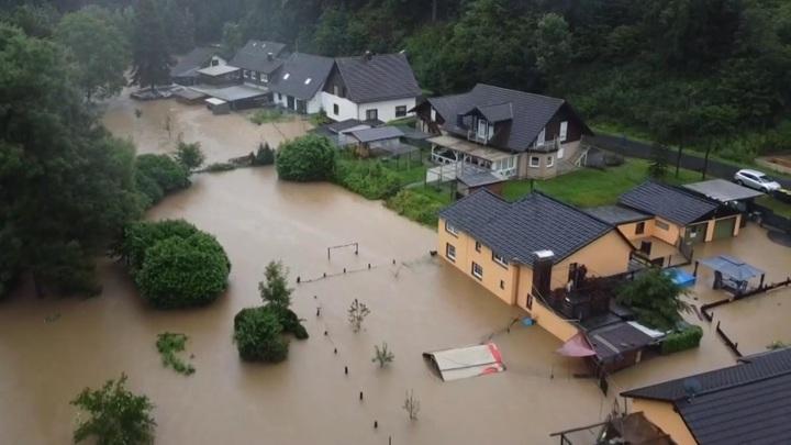 Число погибших в результате наводнения в Германии увеличилось до 80