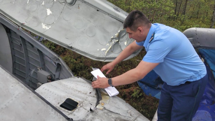 Обломки самолета и останки людей найдены в Бурятии