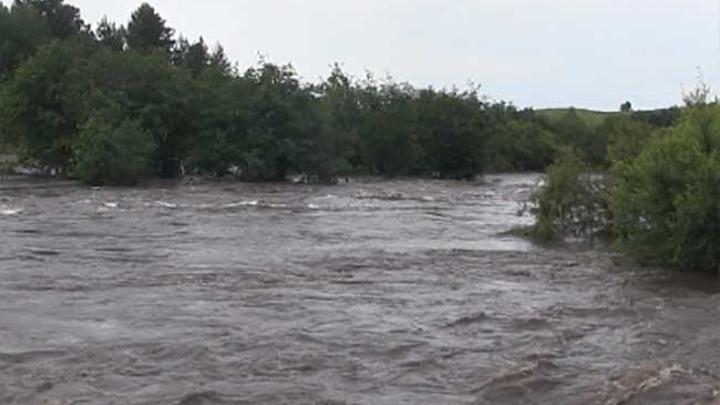 Шесть мостов смыло паводком в Чернышевском районе Забайкалья