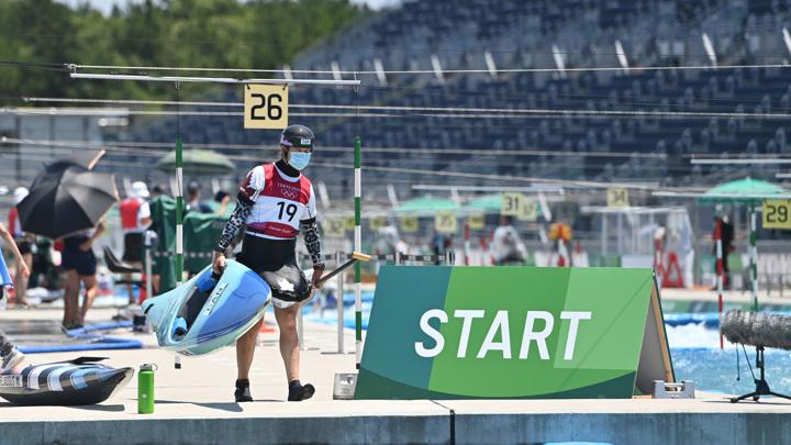 Миназова вышла в финал в гребном слаломе на каноэ-одиночке на Олимпиаде