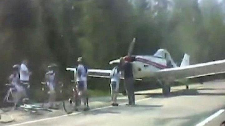В махачкале самолет сел на дорогу фото