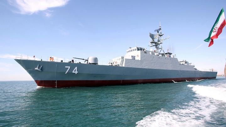 Эстония обвинила иранский военный корабль в нарушении границы