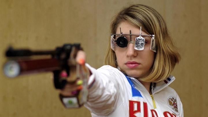 Виталина Бацарашкина выиграла золото в стрельбе