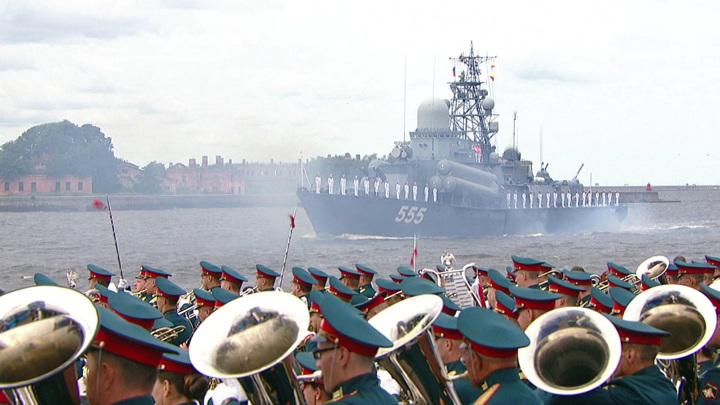 В Петербурге и Кронштадте прошел пятый Главный военно-морской парад