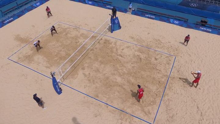 Пляжный волейбол. Мужчины