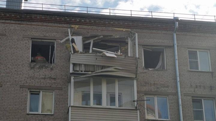 Мощный взрыв газа произошел в барнаульской пятиэтажке