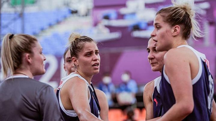 Женская и мужская сборные России по баскетболу 3х3 заняли четвертые места на Кубке Европы