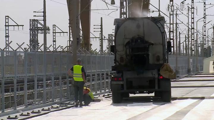 Мост через Волжскую ГЭС откроется к осени