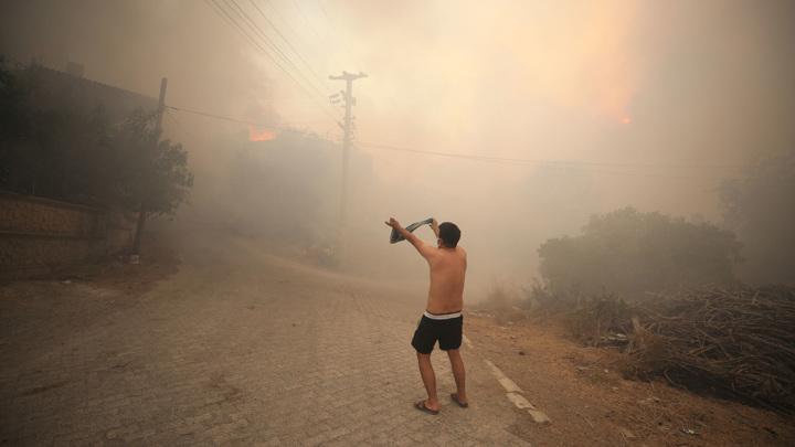 Горящая Турция: угрожают ли пожары турбизнесу