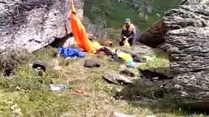 На месте нападения на туристов в Красноярском крае застрелили медведя