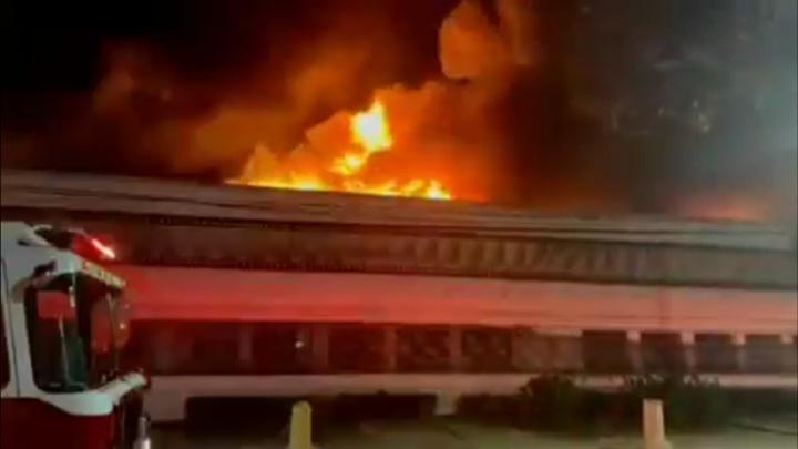 В Бразилии горит хранилище крупнейшего киномузея мира