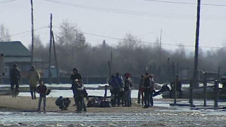 Якутия. Весенний паводок