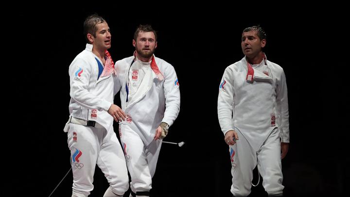 Российские шпажисты – серебряные призеры Олимпийских игр