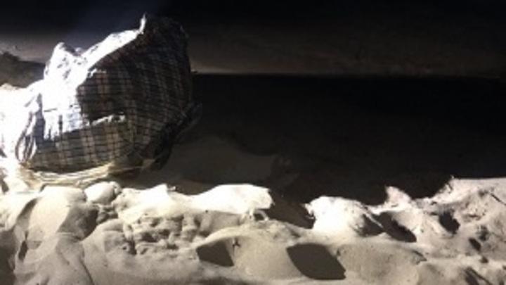 Сумку с телом лысой женщины нашли на пляже Самары
