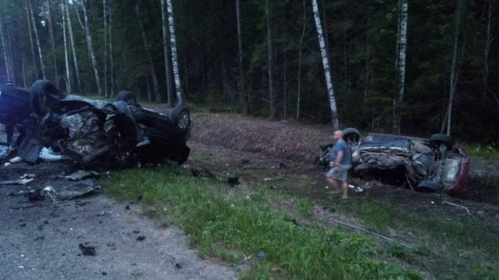 Три человека погибли в аварии под Псковом