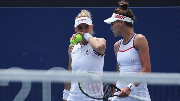 Кудерметова и Веснина потерпели поражение в матче за бронзу Олимпиады