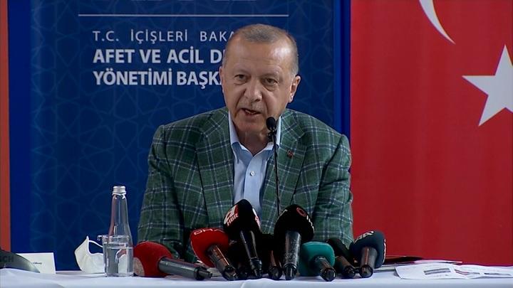 """Эрдоган обещал """"вырвать сердце"""" поджигателям лесов"""