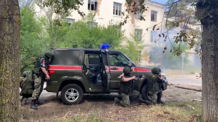 """Учения """"Страж-2021"""" проходят в Хабаровске"""