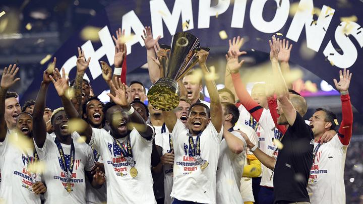 Футболисты США выиграли Золотой кубок КОНКАКАФ