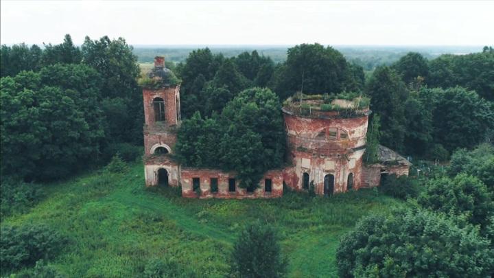 В Ярославской области приступили к расчистке территории Корсунского храма