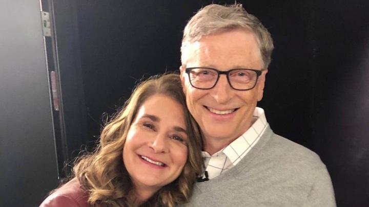 Билл и Мелинда Гейтс (фото из https://www.instagram.com/thisisbillgates/)