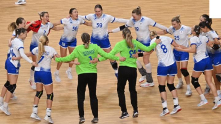 Российские гандболистки пробились в полуфинал токийской Олимпиады