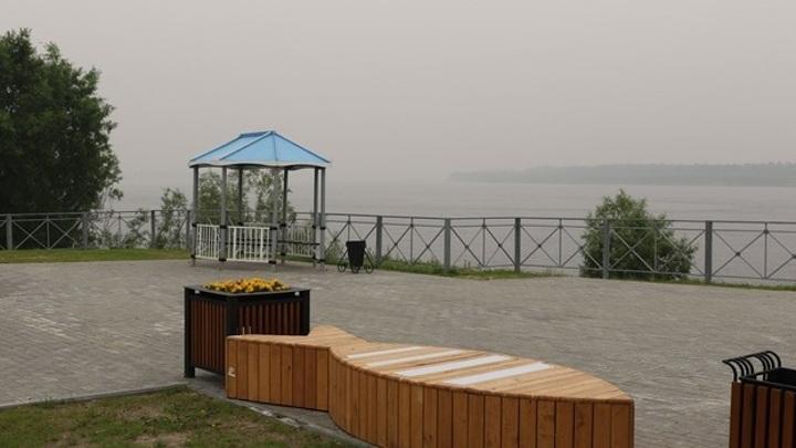 Дым от лесных пожаров в Якутии достиг Ямала
