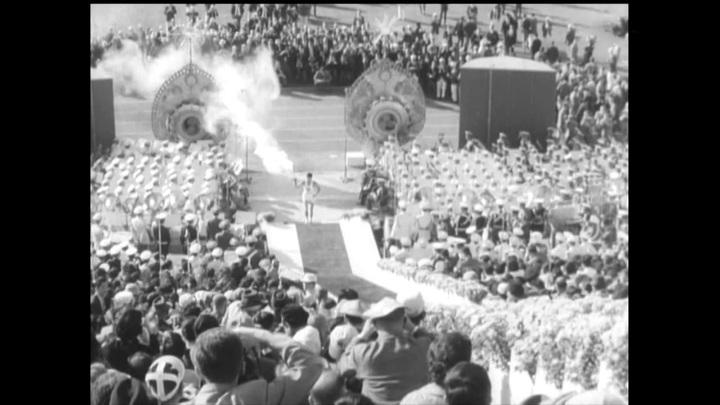 Выставка, посвященная Олимпиаде вТокио 1964года, открылась вЛондоне