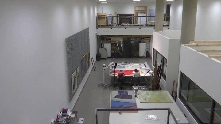 В Бейруте восстанавливают музей современного искусства, пострадавший от взрыва год назад