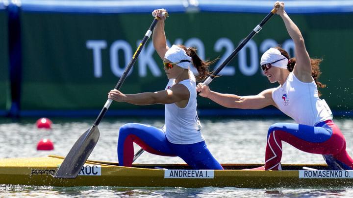 Ирина Андреева и Олеся Ромасенко