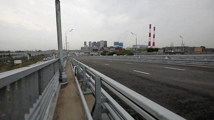 Дорога от Рязанского проспекта до Третьего транспортного кольца открыта