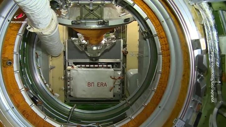Космонавты испытают систему охлаждения ядерного буксира