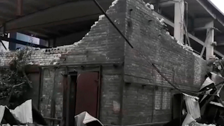 В Липецке на металлургическом комбинате прогремел взрыв