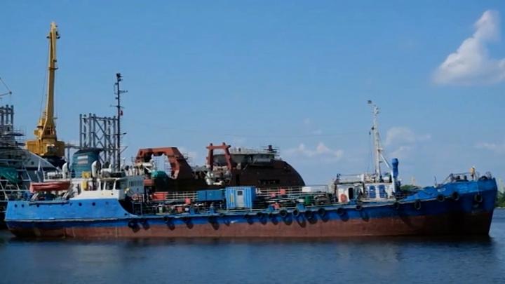 """Строящиеся на """"Северной верфи"""" корабли будут швартоваться на новом месте"""