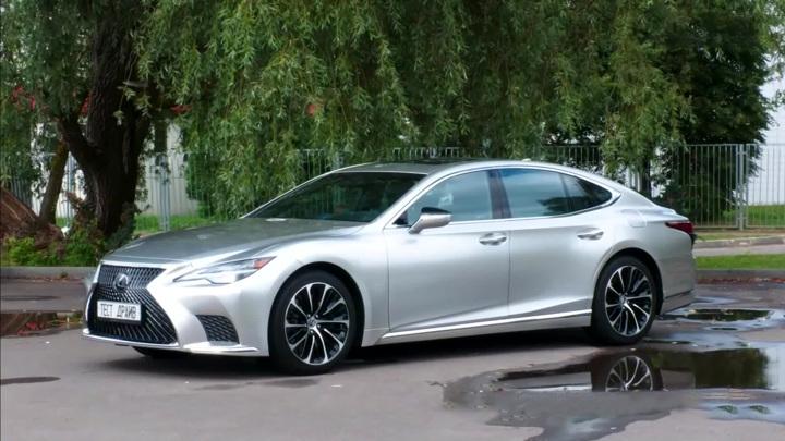 Роскошь на колесах: Lexus обновил свой флагманский седан