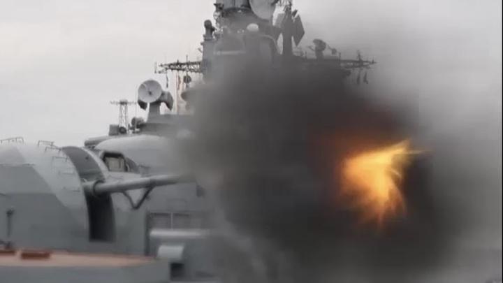 Российские пограничники провели учения в Баренцевом море