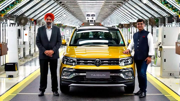 В Индии стартовал выпуск компактного кроссовера Volkswagen Taigun