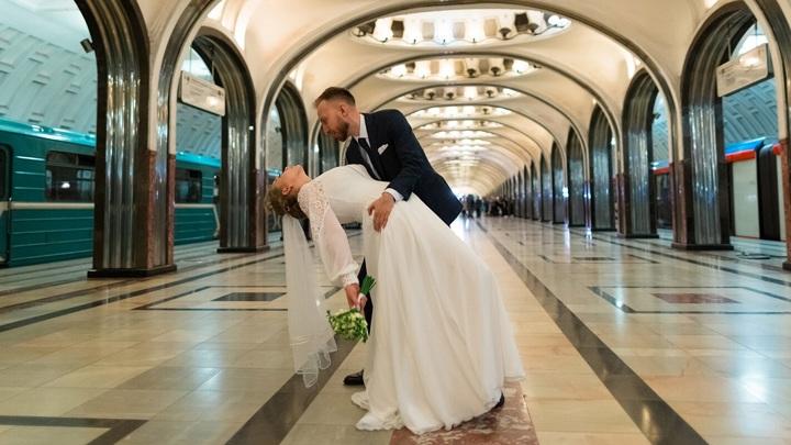 Более 20 тысяч пар заключили брак на необычных площадках Москвы