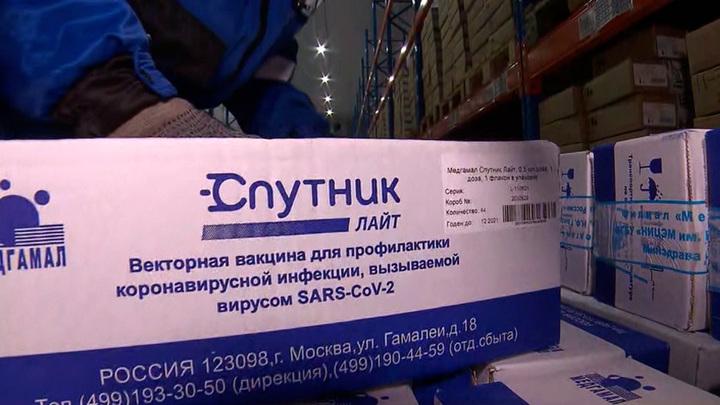 """""""Спутник Лайт"""" одобрен ОАЭ как отдельная вакцина и бустер"""