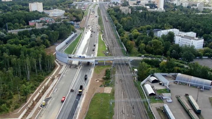 Богородский путепровод запущен: трасса разгрузит северо-восток столицы