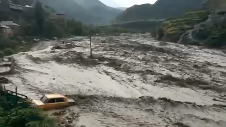 В Дагестане селевой поток унес 5 человек