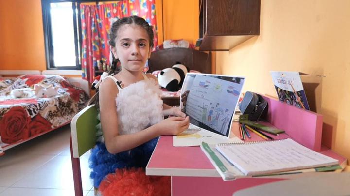 """""""Спасибо России за мир"""": сирийская девочка написала Путину письмо, он ей ответил"""