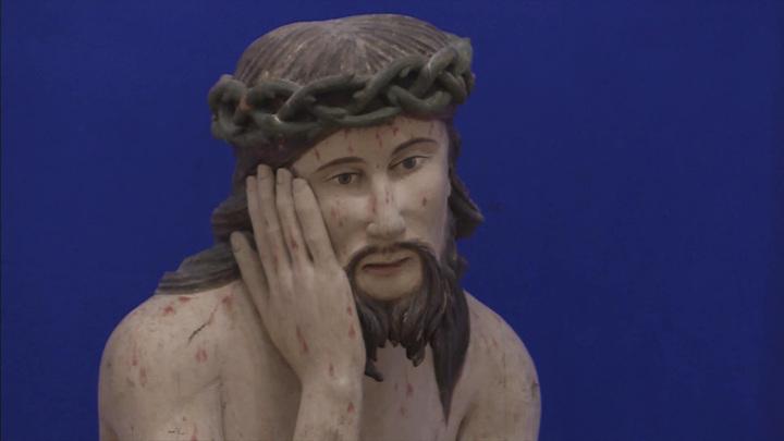 Уникальному собранию деревянной скульптуры в городе Тотьма возвращают прежний облик
