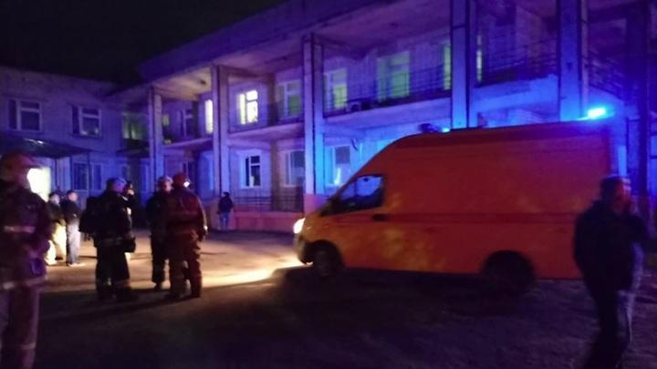 В Ярославле загорелся коронавирусный госпиталь