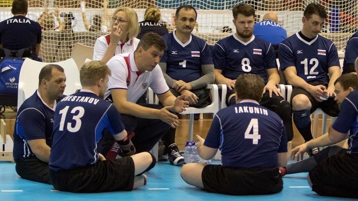 Паралимпиада: Волейболисты РФ пробилась в полуфинал среди сидячих спортсменов