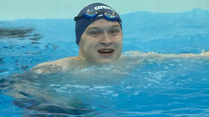Пловец Черняев завоевал золото Паралимпиады с мировым рекордом