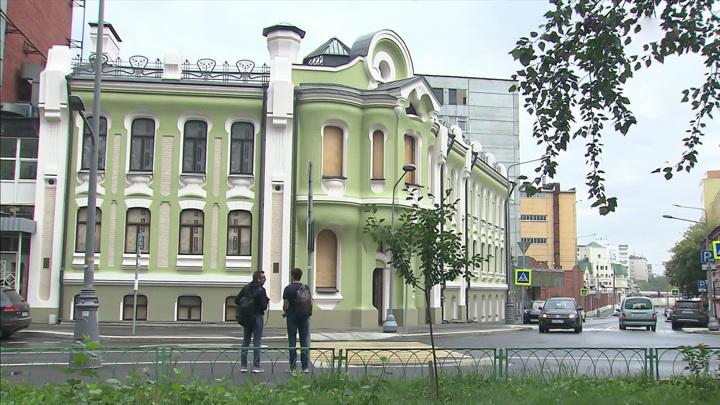 Реставрацию особняка Абрикосовых завершат к концу следующего года
