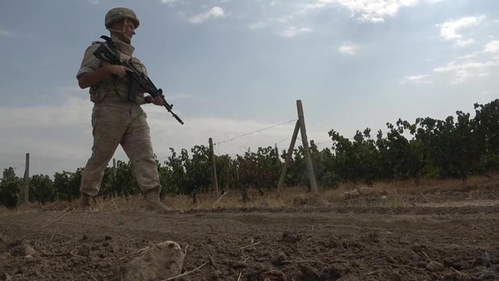 Миротворцы из РФ обеспечивают безопасность на сборе винограда в Карабахе