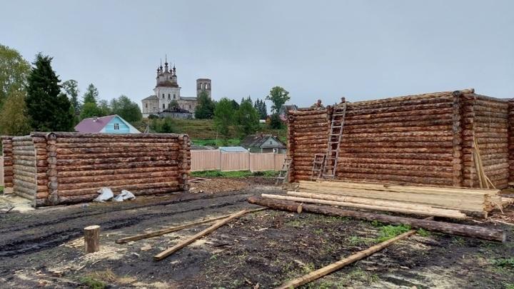 В Вологодской области восстанавливают старинную солеварню