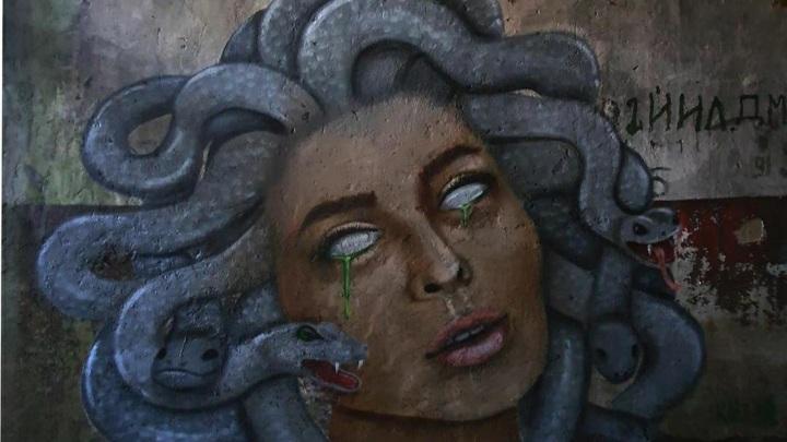 Медуза Горгона появилась на полигоне под Тверью